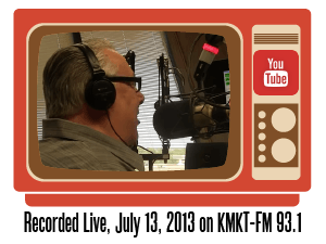 Dan Acree live radio broadcast