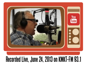 Dan Acree live radio broadcast on KMKT-FM