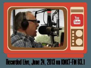 Dan Acree live radio broadcast on KMKT-FM