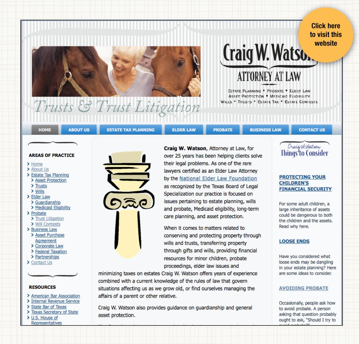 Craig Watson Law